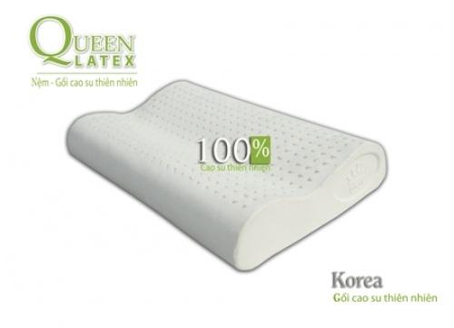 Gối Nằm Cao Su Korea Vạn Thành 11.5x39x59cm