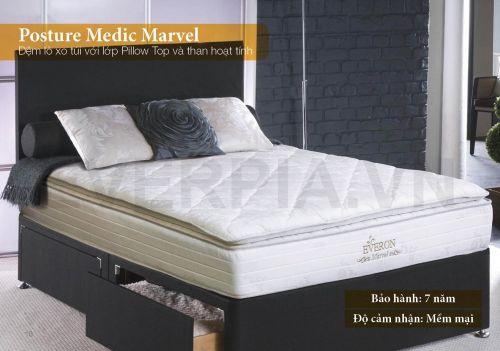 Đệm lò xo Posture Medic Marvel Everon