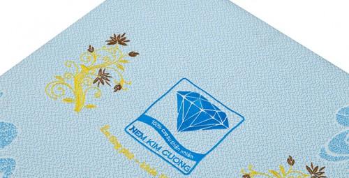 Nệm bông ép gấp 3 Acness Kim Cương, đẹp, bền, giá rẻ, giảm 25%