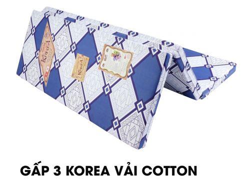 Nệm bông ép Korea vải cotton cao cấp, giá rẻ giảm 10-50%