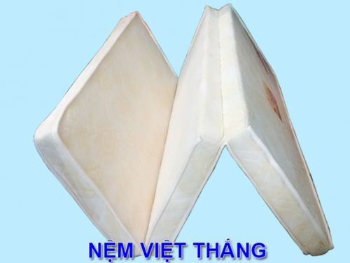 Nệm Bông Ép PE 2 Mặt Gấm Ưu Việt, Cao Cấp, Giá Rẻ Giảm 10%