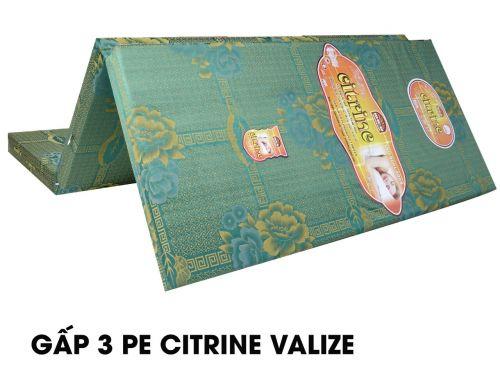 Nệm gấp 3 Pe Citrine vải Valize Hàn Việt Hải cao cấp giảm 10-50%