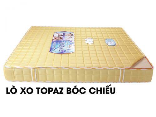 Nệm lò xo Topaz 3 viền bóc chiếu, vải 2D đẹp, giá tốt TPHCM