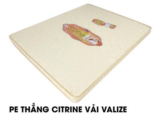 Nệm PE thẳng Citrine vải Valize Hàn Việt Hải giá rẻ giảm 10-50%